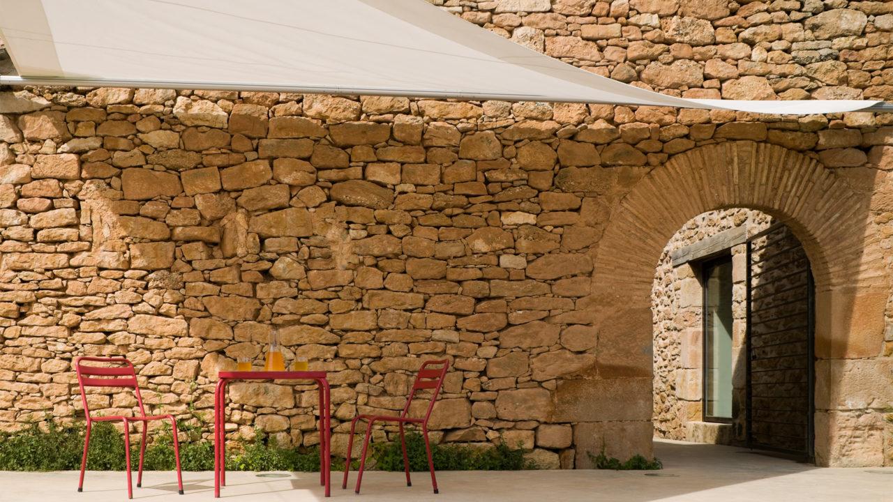 Terraza restaurante hotel Consolación
